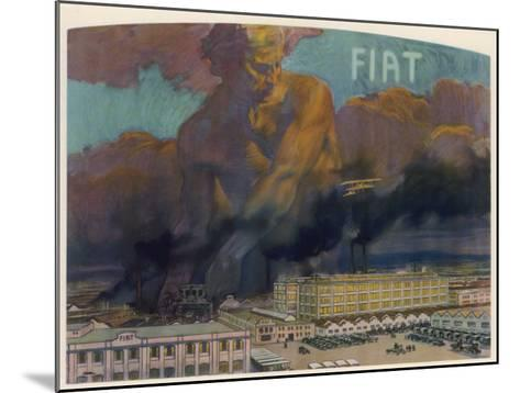 Fiat Factory, Torino--Mounted Giclee Print