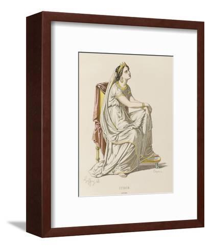 Esther' Esther, Queen of Persia--Framed Art Print