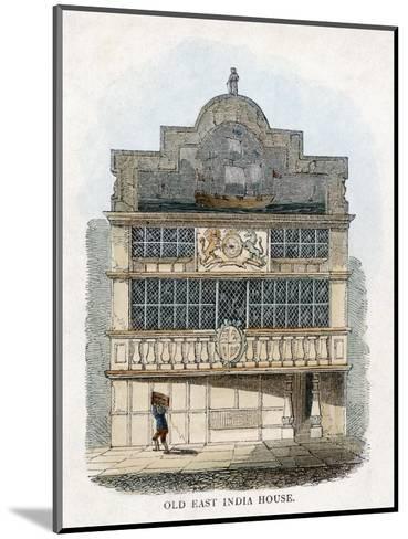 East India House, London--Mounted Giclee Print