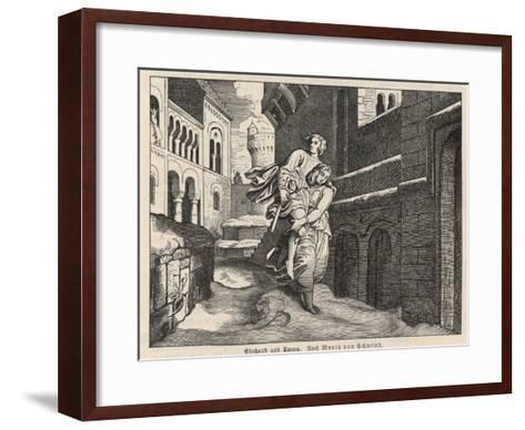 Einhard and Emma--Framed Art Print