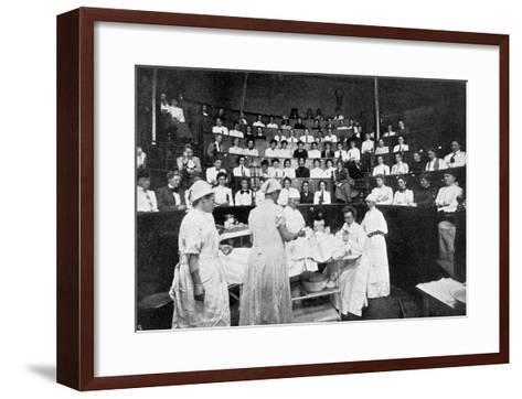 Female Doctors in Training--Framed Art Print