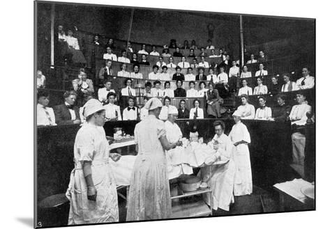 Female Doctors in Training--Mounted Giclee Print