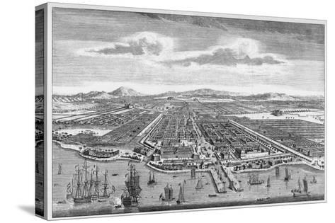 Djakarta (Formerly known as Batavia)--Stretched Canvas Print