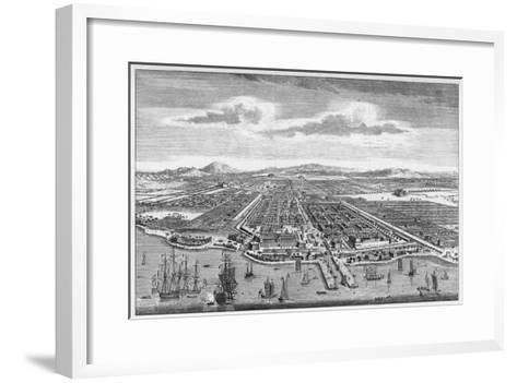 Djakarta (Formerly known as Batavia)--Framed Art Print