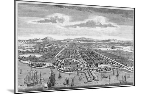 Djakarta (Formerly known as Batavia)--Mounted Giclee Print