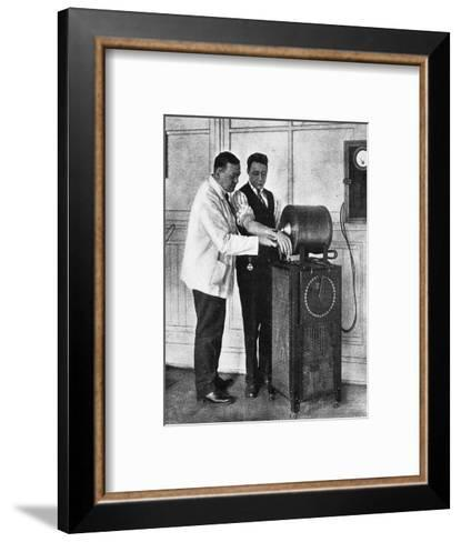 Electro-Magnetic Surgery--Framed Art Print