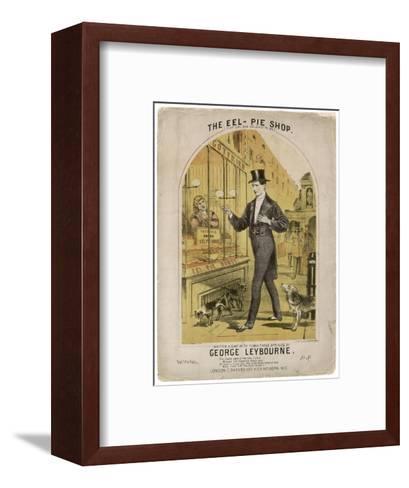 Eel Pie Shop--Framed Art Print