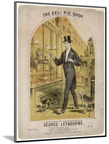 Eel Pie Shop--Mounted Giclee Print