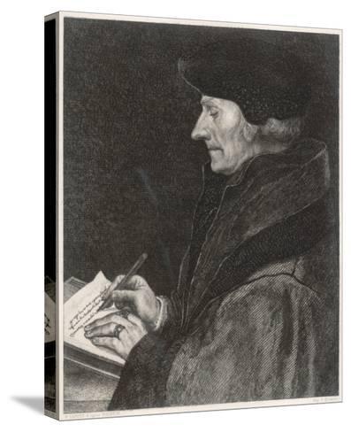 Desiderius Erasmus Dutch Humanist--Stretched Canvas Print