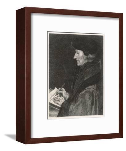 Desiderius Erasmus Dutch Humanist--Framed Art Print
