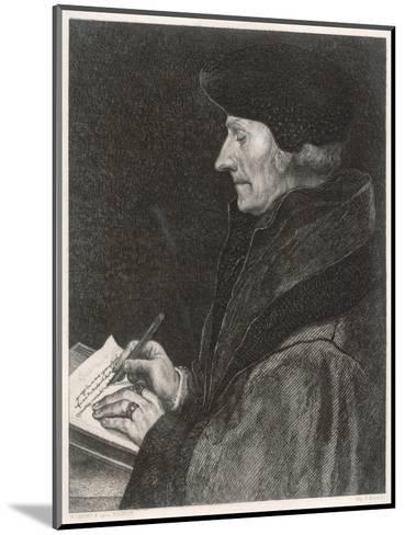 Desiderius Erasmus Dutch Humanist--Mounted Giclee Print