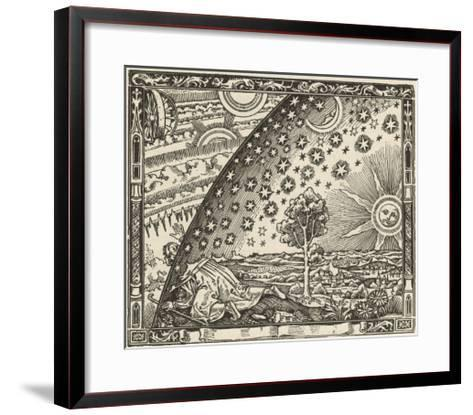 Earth's Junction with the Heavens--Framed Art Print