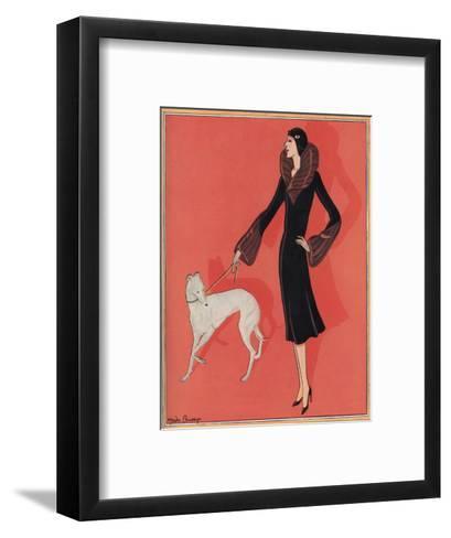 Elegant Outdoor Fashion by Gordon Conway--Framed Art Print