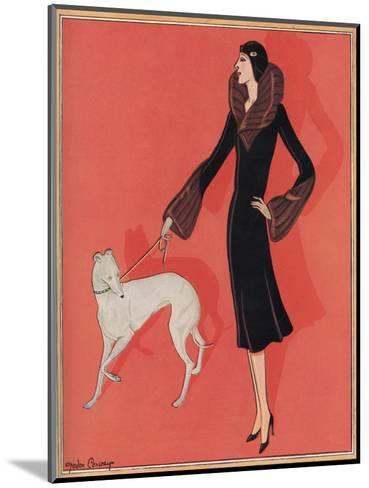 Elegant Outdoor Fashion by Gordon Conway--Mounted Giclee Print
