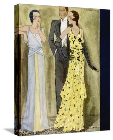 Evening Wear 1931--Stretched Canvas Print