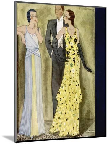 Evening Wear 1931--Mounted Giclee Print