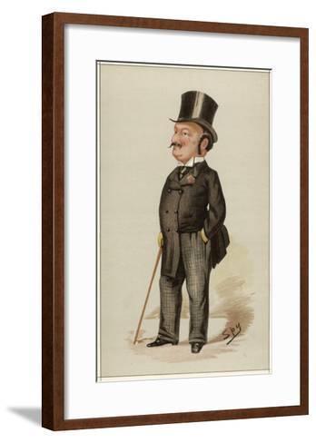 Edward Levy-Lawson 1st Baron Burnham Editor of the Daily Telegraph--Framed Art Print