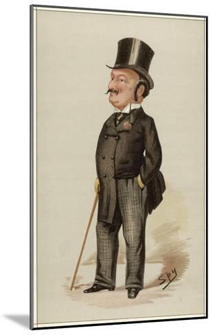 Edward Levy-Lawson 1st Baron Burnham Editor of the Daily Telegraph--Mounted Giclee Print