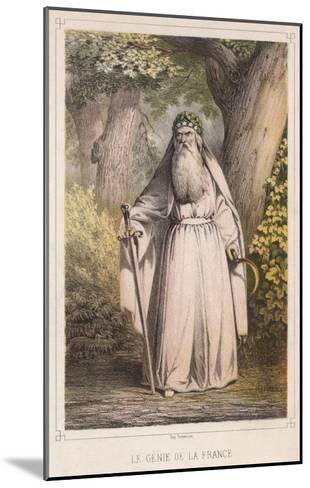 French Druid with Sickle--Mounted Giclee Print