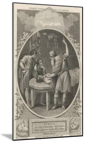 Galen Greek Physician in Rome, Founder of Scientific Physiology--Mounted Giclee Print