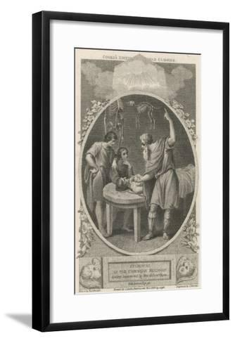 Galen Greek Physician in Rome, Founder of Scientific Physiology--Framed Art Print