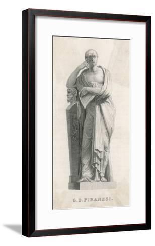 Gianbattista Piranesi Italian Architect and Artist--Framed Art Print
