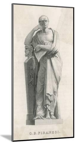 Gianbattista Piranesi Italian Architect and Artist--Mounted Giclee Print