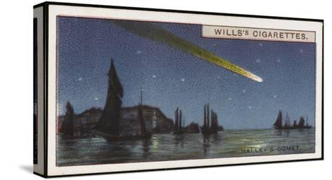 Halley's Comet--Stretched Canvas Print