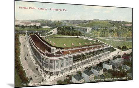 Forbes Field, Pittsburg, America, Home of the Pittsburg Pirates Baseball Team 1909--Mounted Giclee Print