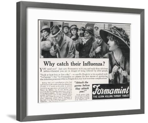 Formamint Throat Tablet--Framed Art Print