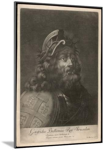 Godefroi De Bouillon French Crusading Warrior, King of Jerusalem--Mounted Giclee Print