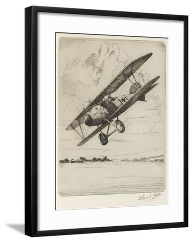 German Single-Seat Fighter, Armed with Two Machine Guns--Framed Art Print