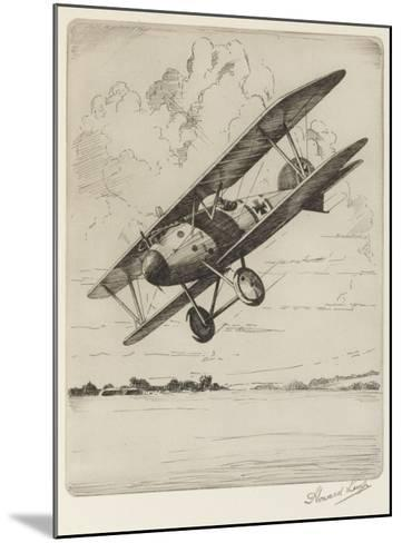 German Single-Seat Fighter, Armed with Two Machine Guns--Mounted Giclee Print