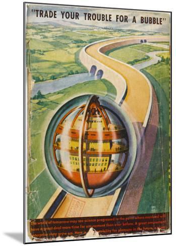 Future Road--Mounted Giclee Print
