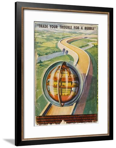 Future Road--Framed Art Print