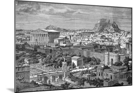 Greece: Athens--Mounted Giclee Print