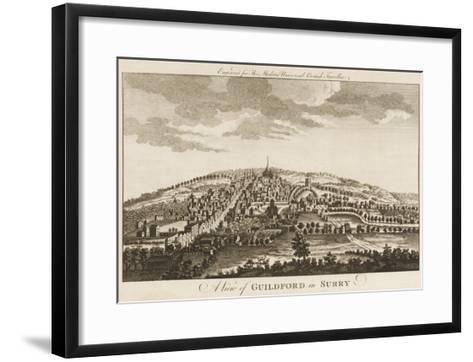 Guildford--Framed Art Print