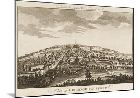 Guildford--Mounted Giclee Print