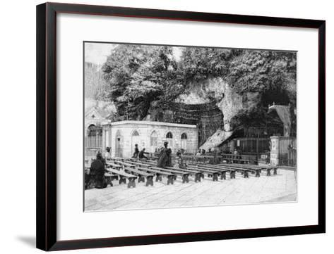 France Lourdes--Framed Art Print