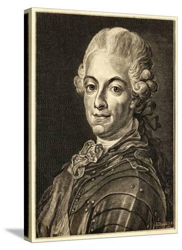 Gustav III King of Sweden (Reigned 1771-92)--Stretched Canvas Print
