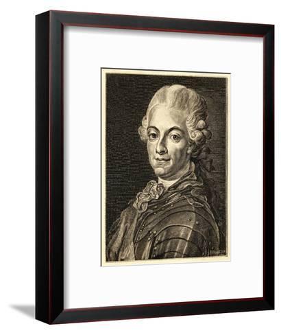 Gustav III King of Sweden (Reigned 1771-92)--Framed Art Print