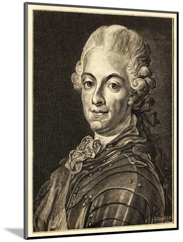Gustav III King of Sweden (Reigned 1771-92)--Mounted Giclee Print