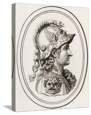 Greek Goddess of Wisdom, Patron of Athens, Adopted by the Romans as Minerva--Stretched Canvas Print