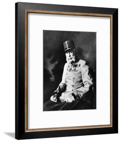 Franz Joseph I, Emperor of Austria, King of Hungary--Framed Art Print