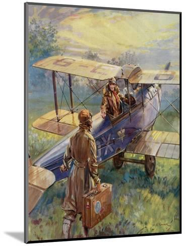 Flying for the Summer Week-End by C.E. Turner--Mounted Giclee Print