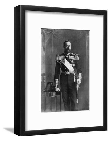 George V--Framed Art Print