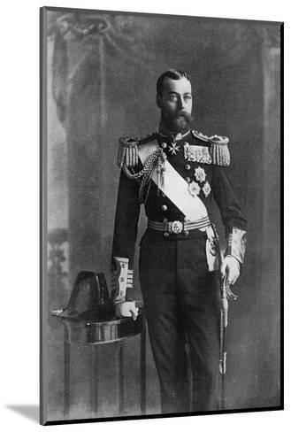 George V--Mounted Giclee Print