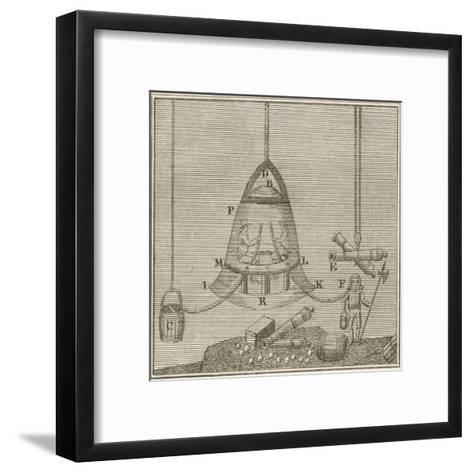 Halley's Bell--Framed Art Print