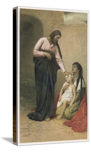 Jesus of Nazareth Jesus as the Healer--Stretched Canvas Print