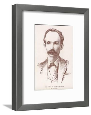 Jose Marti--Framed Art Print